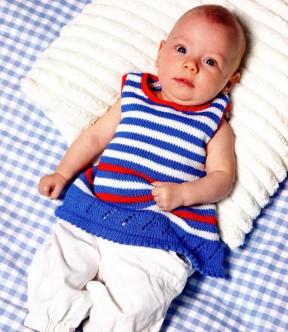 Платье в полосочку для малышки 19