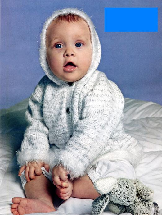 Жакет для малыша 14