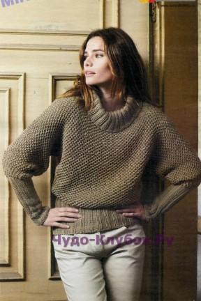 127 Пуловер хаки