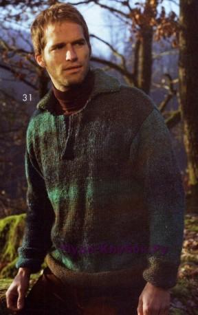 29 Пуловер-поло