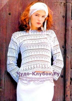 139 Нежный пуловер