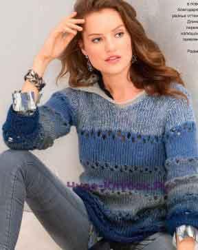 33 Пуловер с капюшоном
