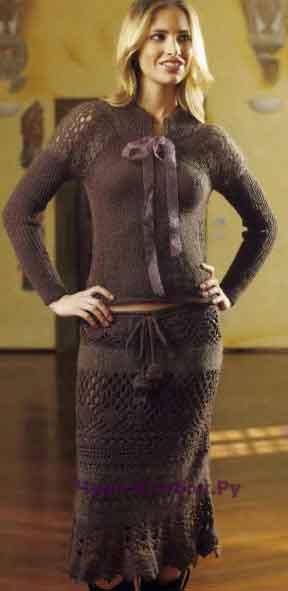 31 Пуловер и юбка