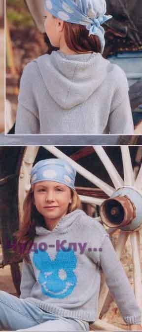 Детский пуловер-худи с Микки Маусом 24