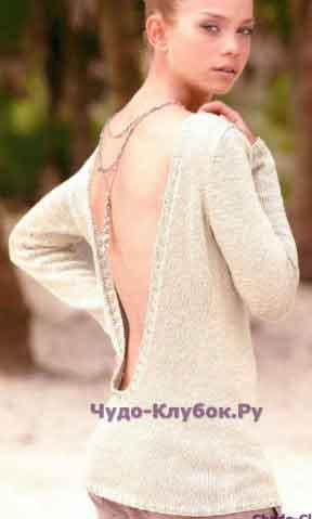 588 Оригинальный пуловер