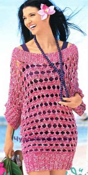 312 Ажурное платье