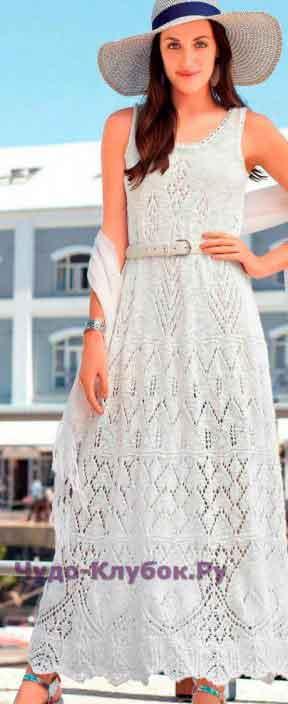 316 Летнее платье макси