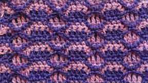 74 Двухцветный узор