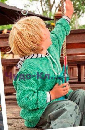 Пуловер для мальчика 8