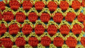 Очень красивый узор крючком Crochet pattern 81