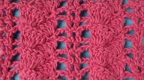 Ажурный узор вязание крючком 50