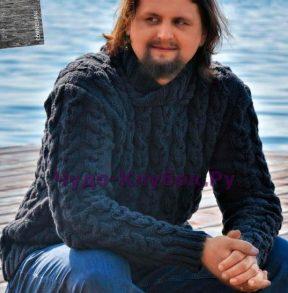 82 Темно-серый свитер