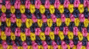 Узор вязания крючком 11 Жаккард