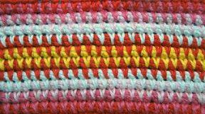 Узор 15 Вязание крючком из длинных петель