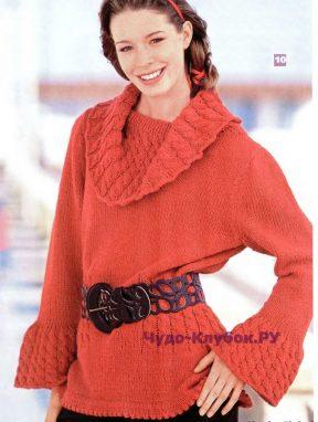 955 Приталенный пуловер