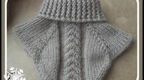 Вязание манишки