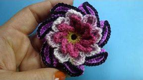 Спиральный цветок