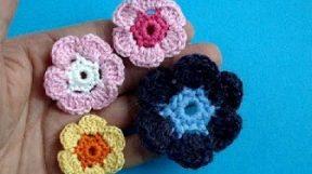 Урок 12 Вязаный крючком цветок