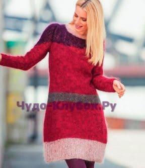Мохеровое платье 650
