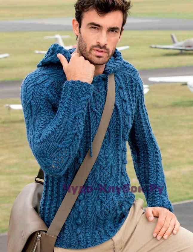 Пуловер с капюшоном 137