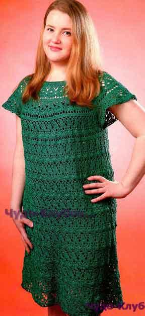 Платье изумрудного цвета 670