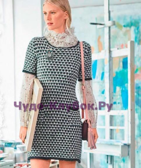 Платье с карманами 653