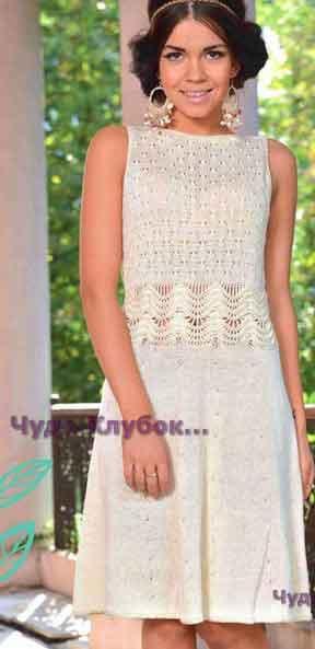 Платье из хлопка 715