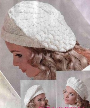 belosnezhnyj beret spiczami
