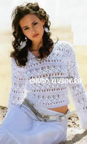 azhurnyiy pulover spitsami e1364641746248
