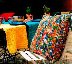 40 Украшения для вечеринки: подушка, чехол для бутылки, салфетки, гирлянда из флажков