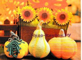 61 Декоративные тыквы
