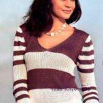 pulover v polosku 1330