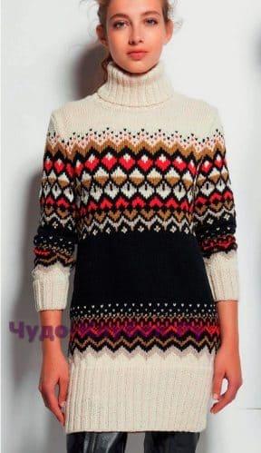 dlinnyiy pulover s zhakkardovyim uzorom 1517 288x499 1