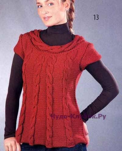 pulover s kosami 1578