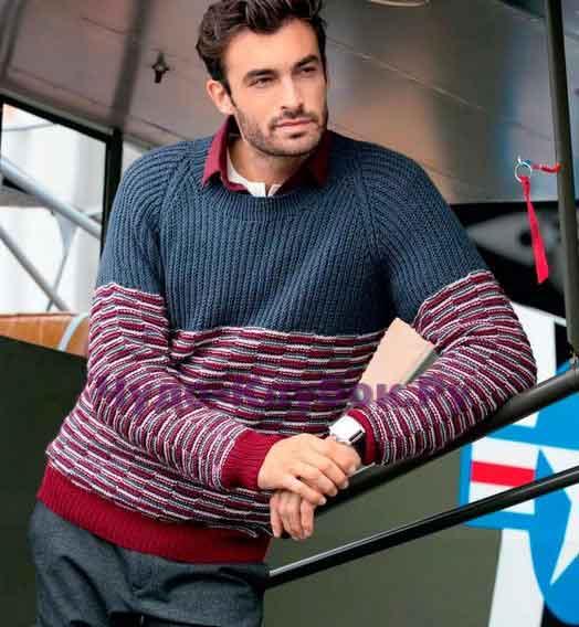 pulover s rukavami reglan 147
