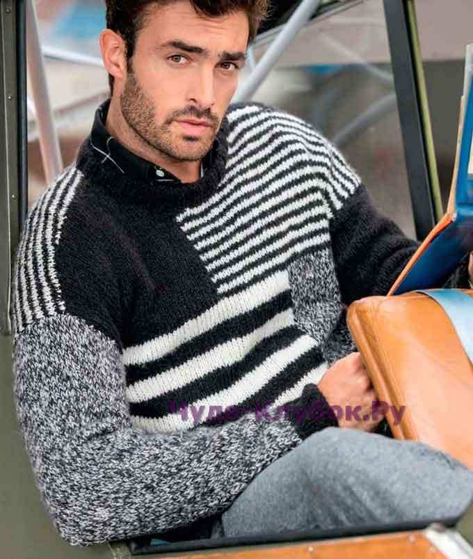 pulover s uzornyim miksom 146