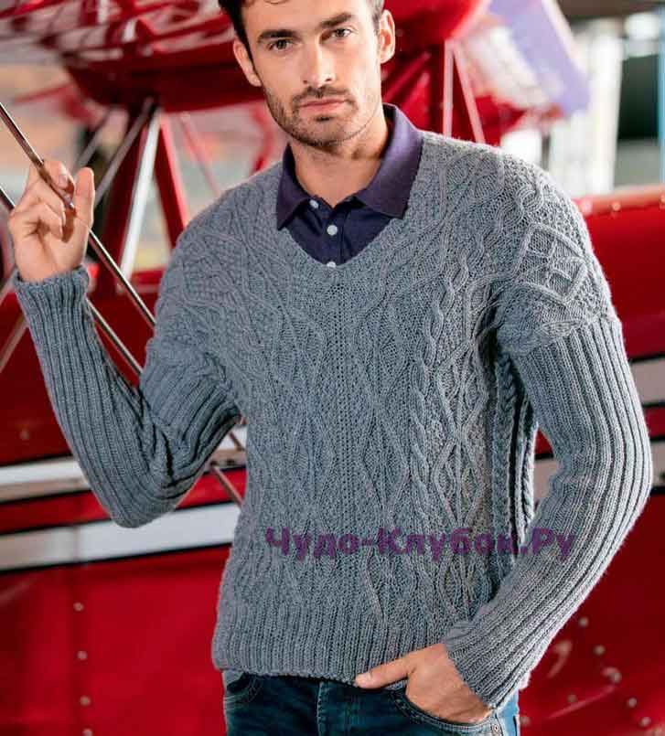 pulover ukrashennyiy aranami 142