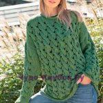 pulover s uzorom iz kos 1657