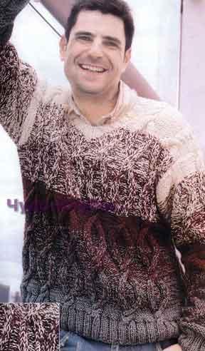 pulover s cheredovaniem czvetov 210 1