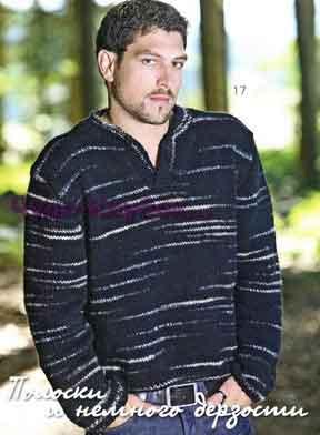 Черный пуловер 224