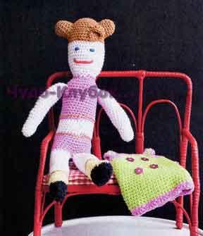 Кукла в платье 9