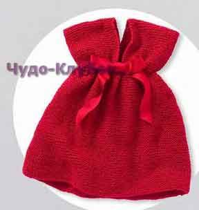 Красное платье с бантом из шелковой ленты 29