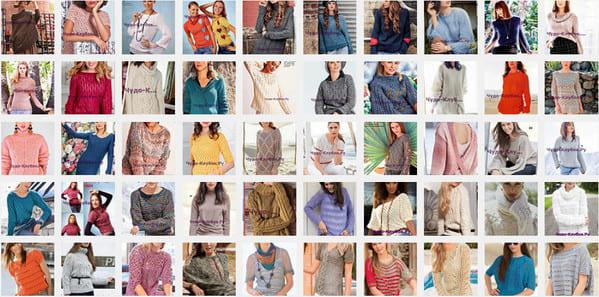 схемы Пуловеры 35