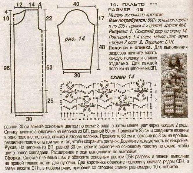 shema palto s raznoczvetnymi polosami vyazanoe kryuchkom 8