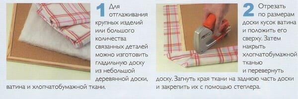 схема Как сделать гладильную доску