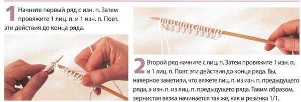 схема Зернистая вязка