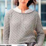 Korotkij pulover vyazanyj spiczami 1885