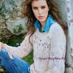 539 pulover s azhurnymi uzorami