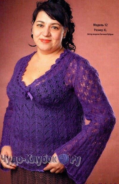 pulover spiczami 35