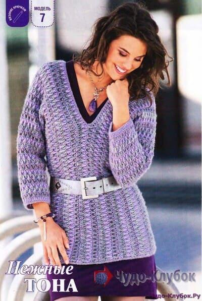 pulover zhenskij kryuchkom 26